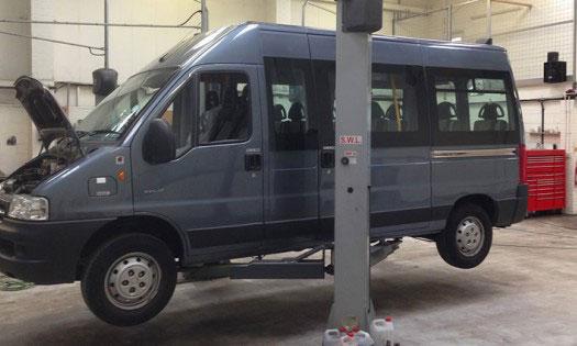Ремонт микроавтобусов в Коломне