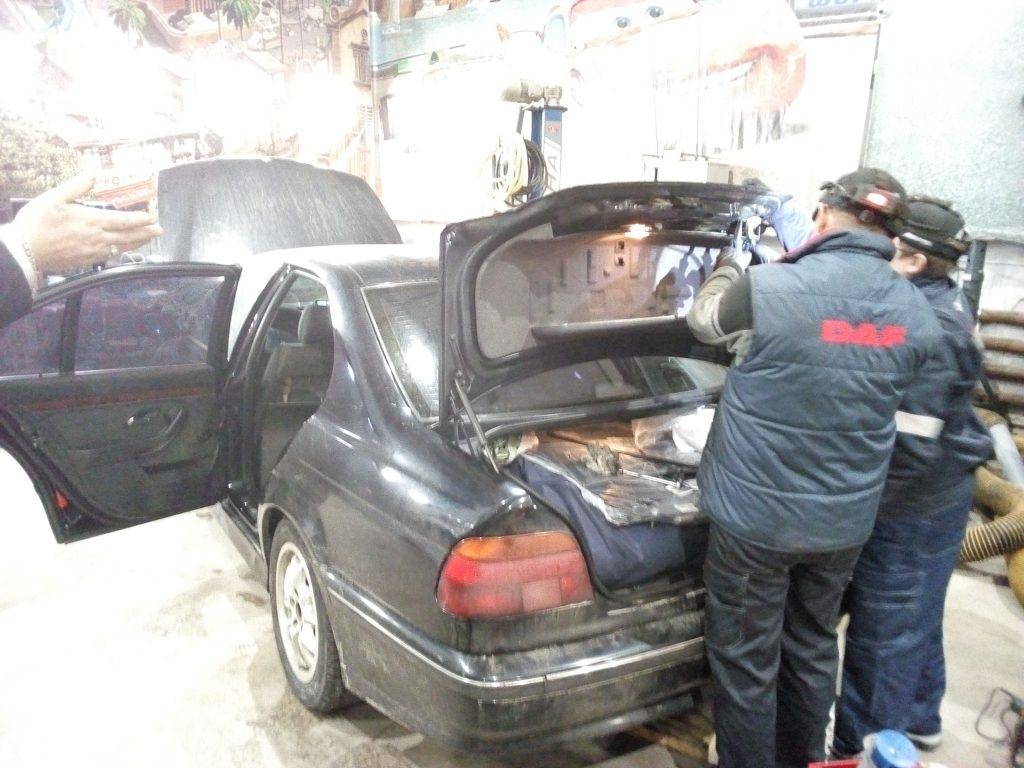 Ремонт замка багажника БМВ